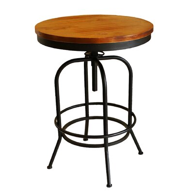 Jarin Round Swivel Adjustable Pub Table