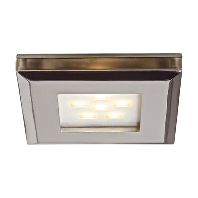 LED Under Cabinet Puck Light Finish: White