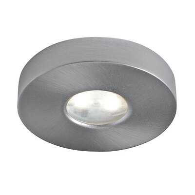 LED Under Cabinet Puck Light Finish: Satin Nickel