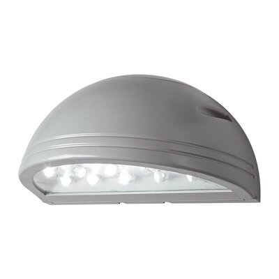 20W, 4000K LED Small Outdoor Wall Lighting Finish: Silver Gray
