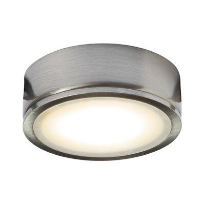 LED Under Cabinet Puck Light Finish: Satin Nickel