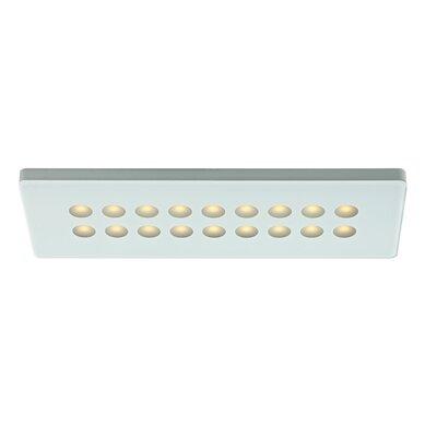 6.38 LED Under Cabinet Strip Light Finish: Black