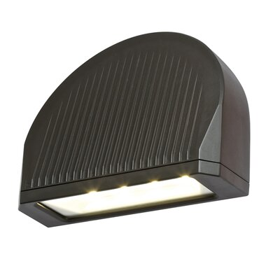 70W LED Directional Arch Outdoor Wall Lighting Finish: Bronze