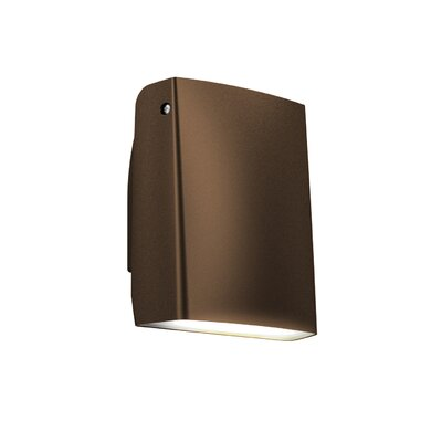 Adjustable 1-Light Wall Pack Finish: Bronze