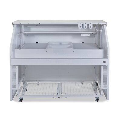 Professional Portable Bar Finish: White