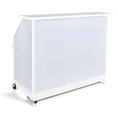 Standard Portable Bar Finish: White