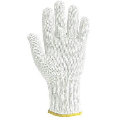 Wells Lamont Medium White Whizard� Handguard II� Heavy Duty High Performance Fiber And Stainless Steel Ambidextrous Cut Resistant Gloves at Sears.com