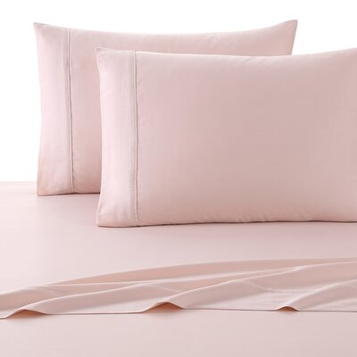300 Thread Count Cotton Luxury Sheet Set Size: Queen, Color: Rose Gold