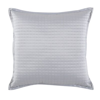 Decorative Throw Pillow Color: Silver