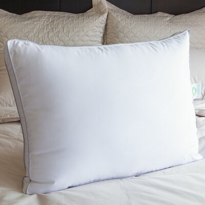 Gel Fiber Pillow Size: 18 D x 28 W