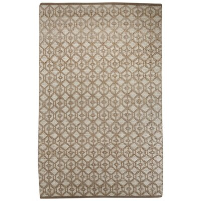Subra Hand-Woven Gray Area Rug Rug Size: Rectangle 5' x 8'