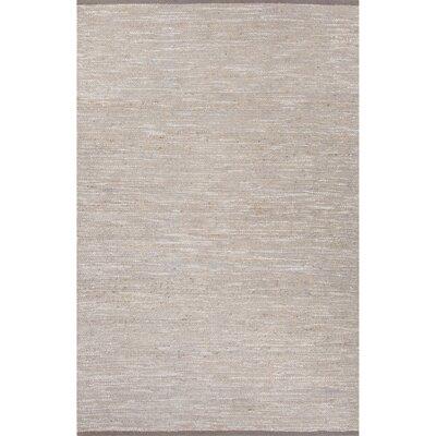 Subra Hand-Woven Gray Area Rug Rug Size: 8 x 10