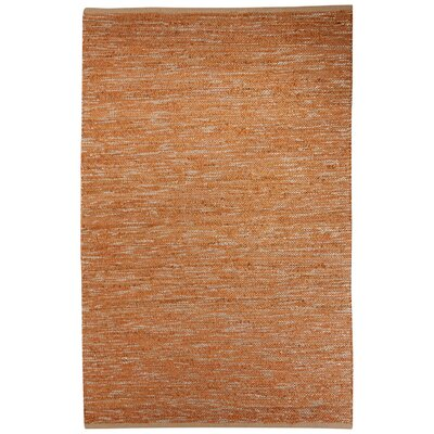 Subra Hand-Woven Beige/Brown Area Rug Rug Size: Rectangle 9 x 12