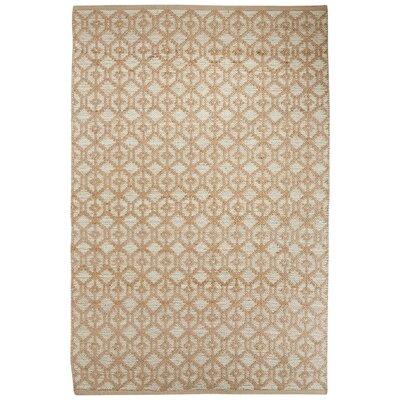 Subra Ivory/White Area Rug Rug Size: 9 x 12