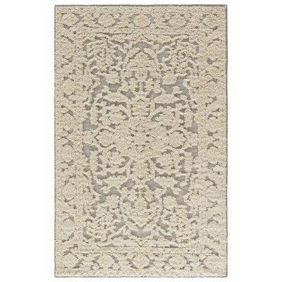 Shakur Hand-Woven Cloud Cream/Neutral Gray Area Rug Rug Size: Rectangle 8 x 11