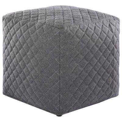 Ultra By Nikki Chu Pouf Upholstery: Grey