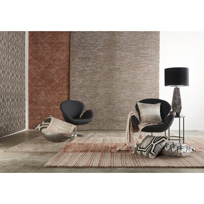 Subra Gray Area Rug Rug Size: Rectangle 9 x 12