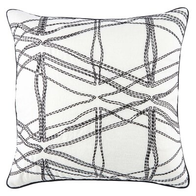 Jaipur Living Burbank Throw Pillow Fill Material: Polyester/Polyfill