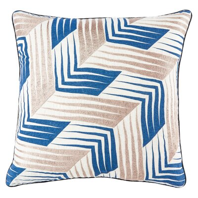 Jaipur Living Nivene Linen Throw Pillow Fill Material: Polyester/Polyfill