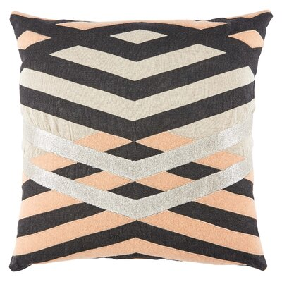 Vesper Linen Throw Pillow Fill Material: Polyester/Polyfill