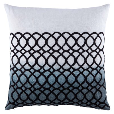 Jaipur Living Salix Ombre Linen Throw Pillow Fill Material: Polyester/Polyfill