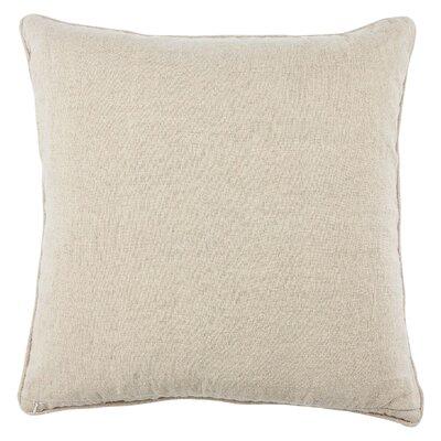 Jaipur Living Otway Linen Throw Pillow Fill Material: Polyester/Polyfill