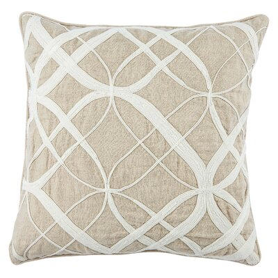 Jaipur Living Otway Linen Throw Pillow Fill Material: Polyester/Polyfill