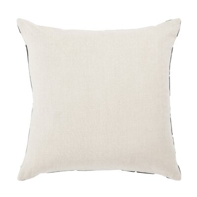 Living Danceteria Geometric Linen Throw Pillow Color: Black/Ivory, Fill: Polyester / Polyfill