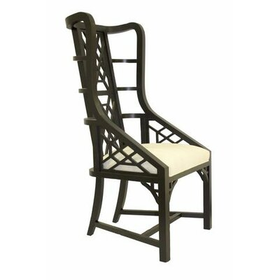 Grant Ebony Captains Wingback Chair