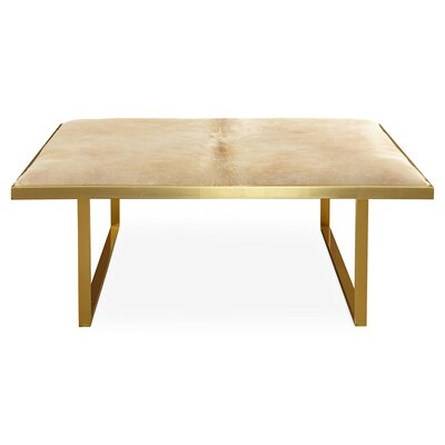 Kelly Coffee Table Color: Taupe