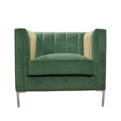 Devereaux Armchair Upholstery: Turquoise