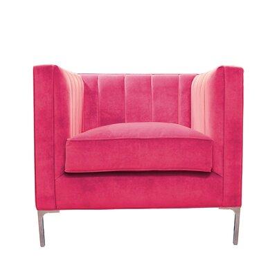 Devereaux Armchair Upholstery: Fuchsia