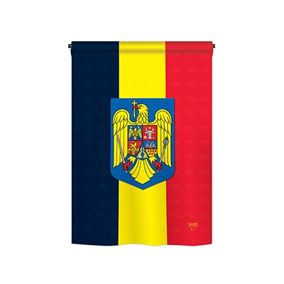 Romania 2-Sided Vertical Flag 58191