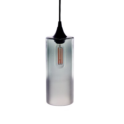1-Light Mini Pendant Finish: Clear