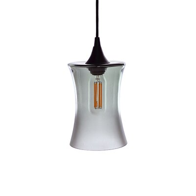 1-Light Mini Pendant Finish: Gray
