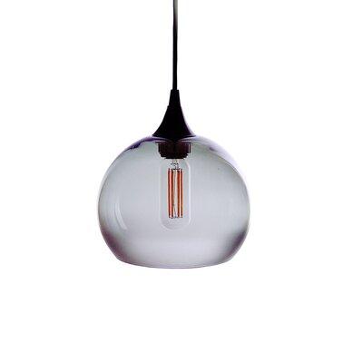 1-Light Mini Pendant Finish: Gray