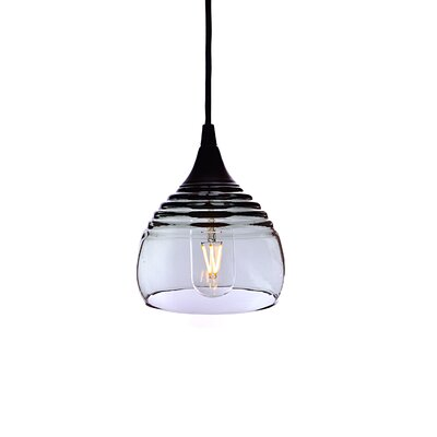 Lucent 1-Light Mini pendant Shade Color: Gray