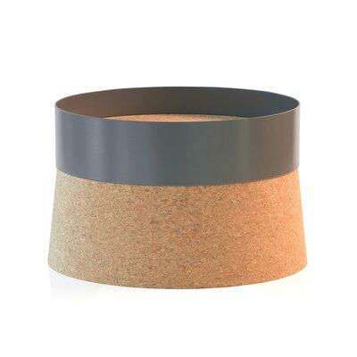 Cork Banded High Pedestal Centerpiece Bowl