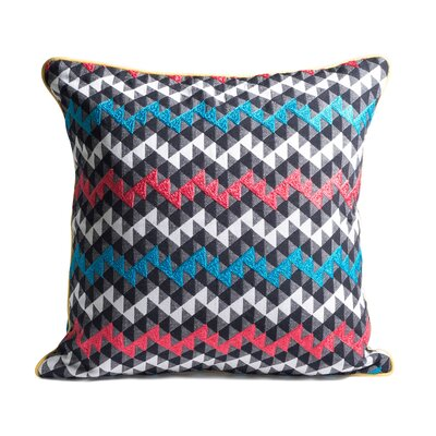 Kaleidoscope Woven Throw Pillow