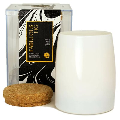 Aestheticcontent Fabulous Fig And Jasmine Scented Jar Candle