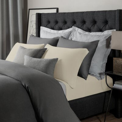 Solid Jersey Sheet Set Size: Cal King, Color: Papyrus