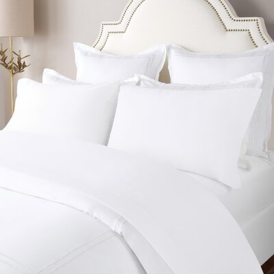 100% Cotton Solid Flannel Sheet Set Size: King, Color: White