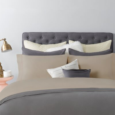 600 Series 300 Thread Count Sheet Set Size: Queen, Color: Tan