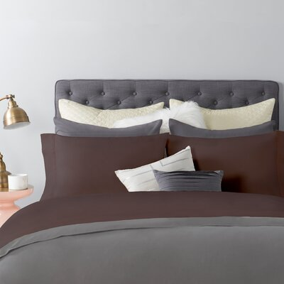 600 Series 300 Thread Count Sheet Set Size: Full, Color: Iron