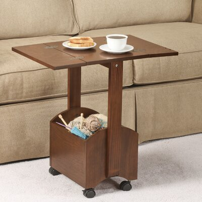 Rectangle Folding End Table