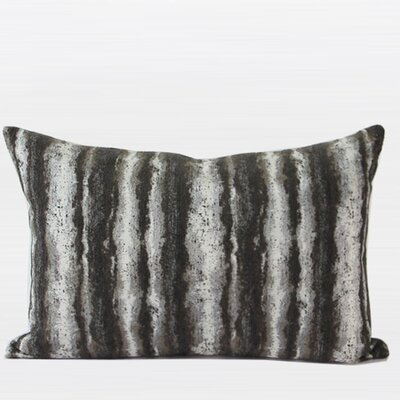 Luxury Stripe Metallic Chenille Pillow Cover