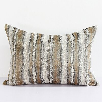 Luxury Chenille Pillow Cover Color: Light Gold