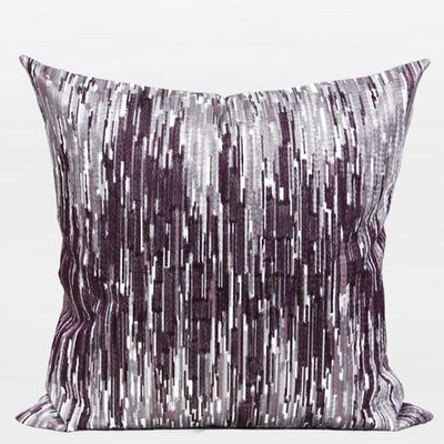 Luxury Non-objective Embroidered Throw Pillow