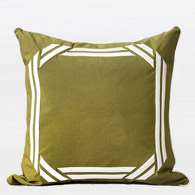 Luxury Embroidered Textured Pillow Cover