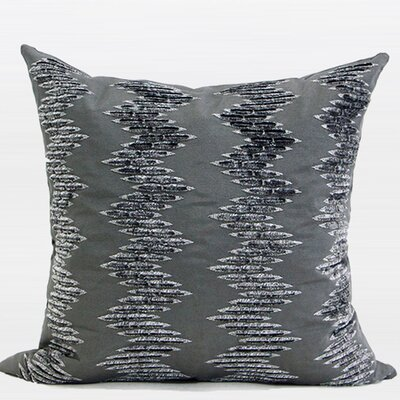 Luxury Textured Embroidered Pillow Cover